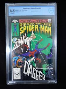 Spectacular Spider-Man #64     CBCS 8.5    Off White/White Pages   1st App Cloak