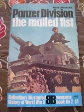 Ballantine's Weapon Book #2 Panzer Division: The Mailed Fist