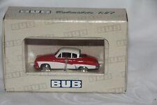 BUB 1:87 Metallmodell - 06251-  Edition 2005 - Wartburg 311 Coupe rot/weiß - Neu