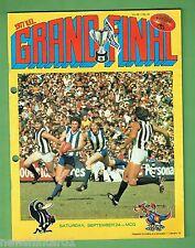 #T43. 1977 VFL GRANDFINAL AUST.  FOOTBALL PROG., NORTH MELBOURNE  V COLLINGWOOD