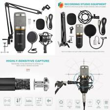 Professional Condenser Microphone Recording Studio Kit Broadcast Equipment Audio