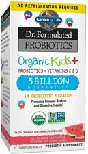 Dr. Formulated Probiotics Organic Kids Plus (No Refrigeration Required), 30 chew
