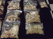 Lot of Assorted Wooden Craft Pieces - #314