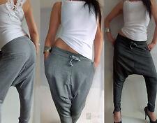 Damen-Hosen ohne Muster mit Taschen