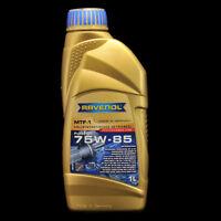 Ravenol MTF-1 75W-85 1L - API GL4/5 -  MB 235.7, 235.4, GM,Saab, Opel, Hyundai