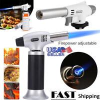 920 Camping Gas Torch Welding Fire Maker Lighter Butane Burner Flame Gun