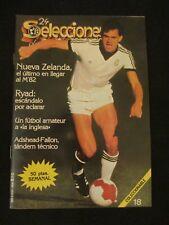 REVISTA SELECCIONES DE ORO MUNDIAL ESPAÑA 82 - 1982  NUEVA ZELANDA - NEW ZEALAND
