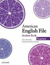 American English File Starter Student Book, Latham-Koenig, Christina, Oxenden, C
