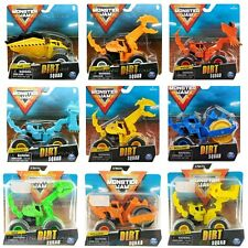 Monster Jam 2020 Dirt Squad Monster Truck Tractors Wave 1, 2 & 3 Choose From 9