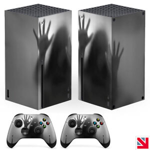 Horror Trapped Zombies XBOX SERIES X Skin Decal Vinyl Sticker Wrap