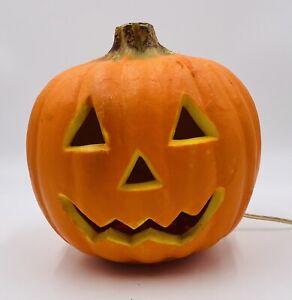 Gemmy Halloween foam Light Up pumpkin Works