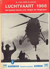 ALKENREEKS 148 - LUCHTVAART 1968 - B. van der Klaauw