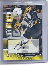 12-13 2012-13 IN THE GAME HEROES PROSPECTS ROLAND McKEOWN AUTOGRAPH HURRICANES
