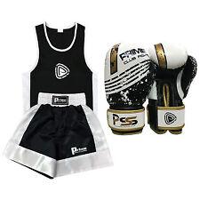 Enfants uniforme ensemble haut et bas âge 3-12 ans junior gants de boxe 4/