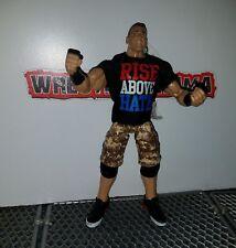 John Cena WWE Mattel Elite Wrestling Figure Above Hate Camo Legends Flashback