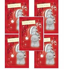 Me to You Christmas Card 5 Pack - Tatty Teddy Bear Candy Cane Xmas Cards