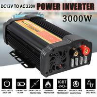3000W/6000W Power Inverter  DC 12V to AC 220V-240V Modified Sine Wave Converter