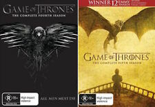 GAME OF THRONES : Seasons 4 - 5 : NEW DVD