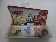 CARDED ORIGINAL DISNEY PIXAR CARS MOVIE MOMENTS LUIGI GUIDO & TRACTOR
