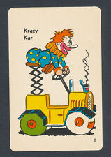 Krazy Kar card from 1959 Old Maid Circus Edition game - 1 card