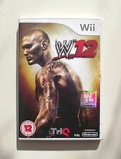 WWE 12 wii pal