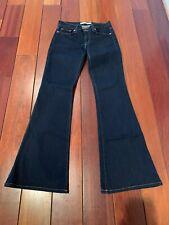 J Brand Dark Wash Bell Bottom Babe Jeans Size 27