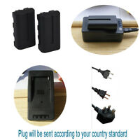 2XNP-F550 NP-F330 Battery&Rapid LCD Charger For SONY NP-F750  F970 Mavica Camera