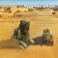 Egyptian Sphinx Ruins Aquarium Ornament Reptile Terrarium Fish Tank Decorations