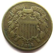 1864 USA 2 Cents Coin - United States Of America