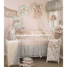 8 PC Crib Bedding Set Nursery Decor Baby Need Accessory Floral Girl Playard Pink