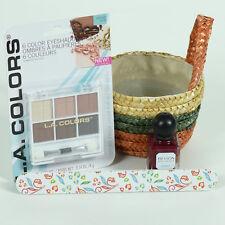FUN Eye & Mini Colorful Woven Gift Basket - Women GREAT GIFT!