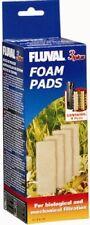 Fluval 3+ Plus Foam Pad Pack of 4 Filter Replacement Sponges Hagen