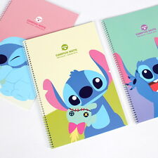 2 Stitich Cute Notes Notebook Paper Notepad Journal Blank Korean Study Planner