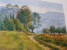 INGLOT André (XX)-Pologne-Normandie-France-aquarelle
