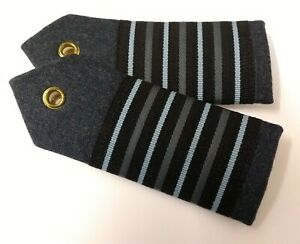 "Genuine British Royal Air Force Issue ""Group Captain"" Shoulder Boards ASPS167"