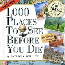 1,000 Places to See Before You Die 2015 Page-A-Day Calendar by Patricia...