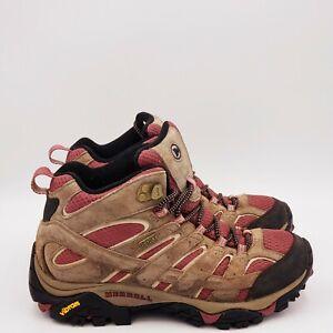 Merrell Women's Moab 2 Mid Waterproof Boots Size 7 Medium A501