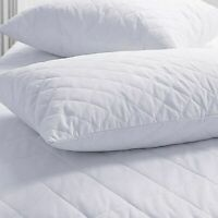 Quilted Pillow Super Firm Deluxe With Hollowfibre Filled Comfortable Soft Pillow