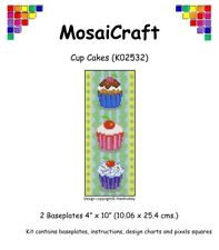 Mosaicraft pixel Craft MOSAICO Art Kit 'Cup Cakes'S pixelhobby