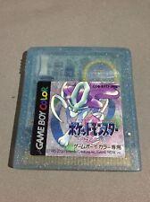 S85 POCKET MONSTERS CRYSTAL Pokemon Gameboy Color Nintendo GB Japan