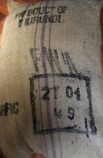 SALE! 5 lbs Green Coffee Beans Burundi Sogestal Muminwa Bourbon Washed Arabica
