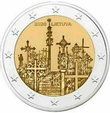 2 Euro LITUANIA 2020 COLLINA DELLE CROCI - 2 € commemorativo FDC