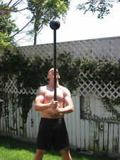 STRONG MAN CUSTOM MADE MACE BELL with 3/4 inch HANDLE