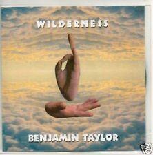 (805T) Benjamin Taylor, Wilderness - DJ CD