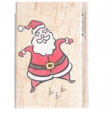 "STAMPS HAPPEN ""HO-HO-HO"" CHRISTMAS RUBBER STAMP"