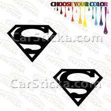 "2 of 5"" Superman Logo /A car truck window bumper vinyl stickers decals die cut"