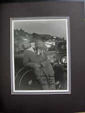 NELSON EDDY AUTOGRAPH SIGNED TO ACTRESS MAMO CLARK 1935 Mutiny on the Bounty