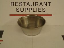*NEW* UPDATE One Dozen SC-15 Stainless Steel 1.5 oz Sauce Cups x12 - Free Ship