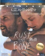 Rust and Bone Blu Ray Marion Cotillard Matthias Schoenaerts French NEW Eng Sub