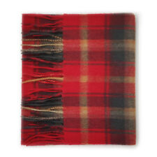 Kiltane of Scotland 100% Cashmere Scottish Tartan Scarf - Dark Maple